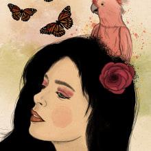 Loving Nature, 2020. Un proyecto de Ilustración digital de Anne González - 27.03.2020