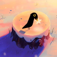 Stella - Short Animated Film. A Illustration, and 2D Animation project by Izzy Burton - 12.04.2019