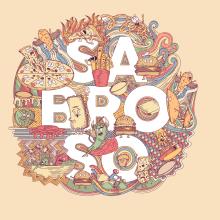 FAST FOOD - A Doodle-Illustration Story (Re-Diseño). Un proyecto de Ilustración, Diseño gráfico e Ilustración vectorial de Arturo Mauleón - 22.11.2020