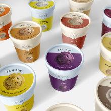 Cauhaus - Ice Cream Packaging. Un projet de Design graphique , et Packaging de Giulia Bocchese - 15.01.2021