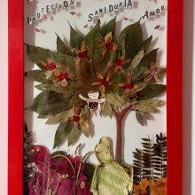 Proyecto del curso prensado de flores de Happy Green Family. A H und werk project by mlwerning75 - 15.03.2021