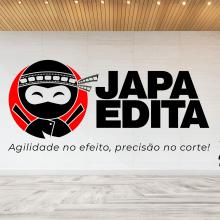 Criação de Logotipo Japa Edita. Un projet de Br et ing et identité de Diego Lucas Barbosa - 16.01.2021