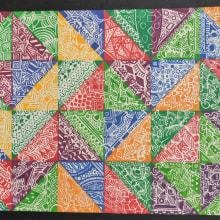 Diseño Precolombino. Um projeto de Design gráfico, Pattern Design e Brush painting de KAREM ANGÉLICA LUCÍA MALAGÓN BOBADILLA - 16.03.2021