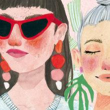 Colección BASEMENT. Un proyecto de Ilustración y Pintura a la acuarela de Valentina Armstrong - 16.03.2021