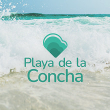 Playa de la Concha | Identidad Visual. Un proyecto de Br, ing e Identidad, Diseño gráfico y Diseño de logotipos de Elena Troyano - 17.03.2021