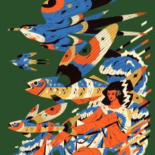 Alados 11. Um projeto de Design, Ilustração, Artes plásticas e Ilustração editorial de Profe - 01.03.2021