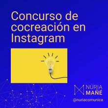 Concurso de ideas en Instagram para nuevo canal de Telegram . Um projeto de Social Media, Instagram e Marketing para Instagram de Núria Mañé - 17.03.2021