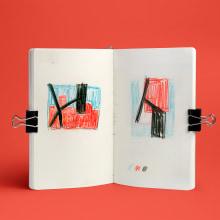 Moleskines: Collage y dibujos. Um projeto de Colagem de Koi Samsa - 22.03.2021