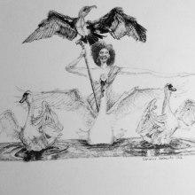My project in Surrealistic Fineliner Illustration course. Un proyecto de Ilustración, Dibujo a lápiz, Dibujo, Dibujo realista, Dibujo artístico e Ilustración con tinta de Didier Van Impe - 22.03.2021