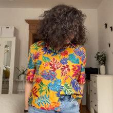 Mi Proyecto del curso: Corte y confección: diseña tu propia camisa. Un proyecto de Costura de Irene Cabezuelo - 24.03.2021