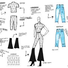LA LÍNEA. Un proyecto de Diseño y Diseño de moda de Paula Rodríguez Rojo - 25.03.2021
