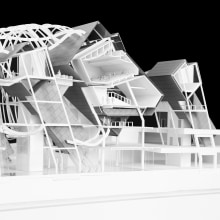 Dali City Convention Center. Um projeto de Design, Ilustração, Instalações, Arquitetura, Design gráfico, Arquitetura da informação, Arquitetura de interiores, Paisagismo, Design de produtos, Modelagem 3D, Arquitetura digital, Ilustração Arquitetônica e Fotografia arquitetônica de Saul Kim - 25.02.2018