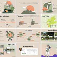 My project in Principles of Presentation Design course - Experience Summary. Um projeto de Ilustração, Design gráfico, Ilustração vetorial, Design de cartaz e Design para Redes Sociais de Echa Fadhila - 28.03.2021