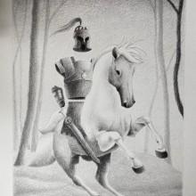 Mi Proyecto del curso: Técnicas de ilustración artística con grafito. Un proyecto de Ilustración, Diseño de personajes, Creatividad y Dibujo a lápiz de Roberta Nozza - 29.03.2021