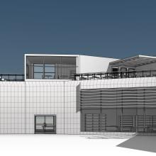 Centro Gastronómico Los Haticos. Un proyecto de 3D, Arquitectura y Arquitectura digital de Miguel Bracho Bracho - 03.04.2021