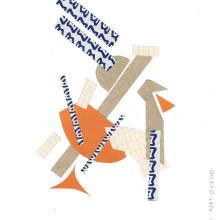 Exercício colagem abstrata. Un progetto di Illustrazione, Belle arti , e Creatività di N Grego - 04.04.2021