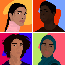 We're All Stars. A Illustration, Animation, 2D Animation, and Digital illustration project by Jael Umerah-Makelemi - 11.12.2020