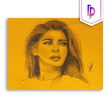 Retratos con colores pastel y acuarelas. Un proyecto de Ilustración e Ilustración de retrato de Lorna Palomares - 10.12.2020