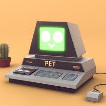 PET 2001. Um projeto de 3D, Animação 3D e Design de personagens 3D de Rafael Carmona - 05.04.2021