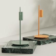 Diaframma Lamp. Um projeto de 3D, Design industrial, Design de iluminação, Design de produtos, Modelagem 3D e 3D Design de Angie Uesseler Cala - 05.04.2021