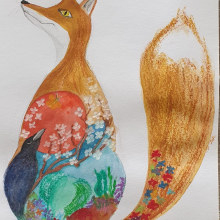 My project in Introduction to Children's Illustration course. Un proyecto de Ilustración de Didier Van Impe - 05.04.2021