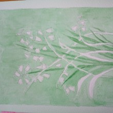 My project in Negative Watercolor Painting for Botanical Illustration course. A Accessor, Design, Acr, and lic Painting project by kingmadeline74 - 04.07.2021