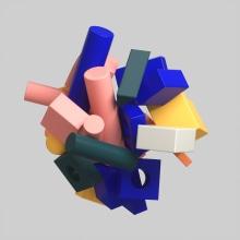 Lockdown Loop. A Design, Animation, Musterdesign, Vektorillustration, 3-D-Animation und 3-D-Design project by Dan Zucco - 19.06.2020