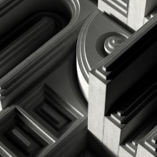 Steps. A Architektur, Vektorillustration, 3-D-Design und Architektonische Illustration project by Dan Zucco - 24.04.2020