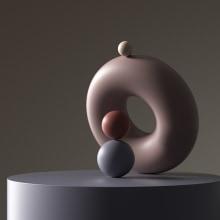 The Balancing Act. A 3-D, Beleuchtungsdesign, 3-D-Animation, 3-D-Modellierung und 3-D-Design project by Dan Zucco - 19.06.2020