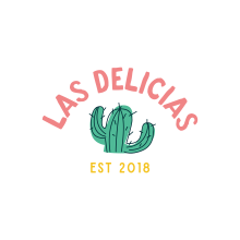 Las Delicias Branding. A Br, ing, Identit, Graphic Design, Vector Illustration, and Digital illustration project by Charlotte Robertson - 03.08.2019