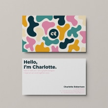 Charlotte Robertson Branding. A Illustration, Br, ing, Identit, Graphic Design & Infographics project by Charlotte Robertson - 05.18.2020