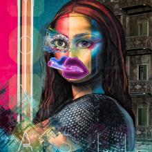 Cyberpunk Loveless City Monalisa. Un proyecto de Motion Graphics de Felipe Ronchi - 26.02.2021
