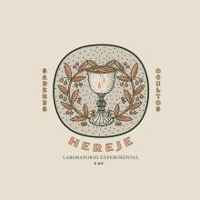 HEREJE. Um projeto de Ilustração, Br e ing e Identidade de Fabry Salgado - 11.01.2021