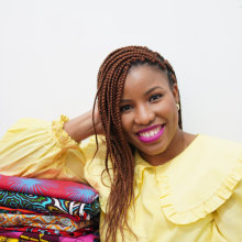 African Wax Fabric Style. A Sewing project by Juliet Uzor - 04.09.2021