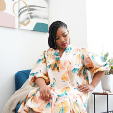 Culture in Style Dress. A Sewing project by Juliet Uzor - 04.09.2021