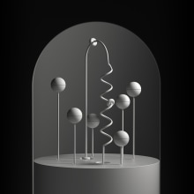 Light & Form. Um projeto de 3D, Design de iluminação, Escultura, Animação 3D, Modelagem 3D e 3D Design de Dan Zucco - 19.06.2020