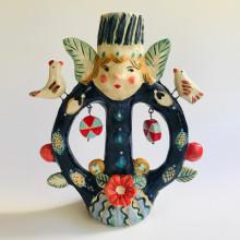 Mi Proyecto del curso: Técnicas de ilustración y modelado en cerámica. Um projeto de Cerâmica de constanzab - 09.04.2021