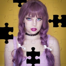 Missing pieces. A Portrait photograph project by Ana Stanojevic - 03.31.2021