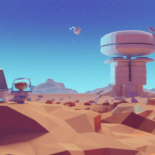 An Otter Planet . Um projeto de 3D e Modelagem 3D de Mohamed Chahin - 10.04.2018