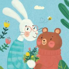 Mi Proyecto del curso: Técnicas de ilustración para narrativa infantil. Un proyecto de Ilustración e Ilustración infantil de Ariadna Cisternas Buenaño - 13.04.2021