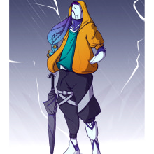 Meu projeto do curso: Ilustração de personagens dinâmicos. Un proyecto de Concept Art y Dibujo digital de ronpfr - 13.04.2021