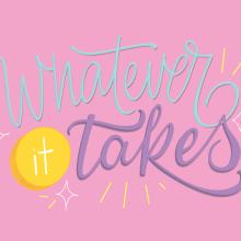 Mi Proyecto del curso: Los secretos dorados del lettering. Um projeto de Design, Design gráfico, Lettering, H e lettering de Lorena Duarte - 19.03.2018