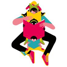 DÍA DEL LIBRO 2021. A Illustration, Poster Design, Children's Illustration, and Editorial Illustration project by Daniel Montero Galán - 04.16.2021