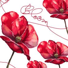 Mi Proyecto del curso: Ilustración botánica con acuarela. Un progetto di Pittura ad acquerello di Lucia Hernandez Jimenez - 16.04.2021