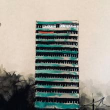 Madrid Buildings. A Illustration, Aquarellmalerei, Malerei mit Acr, l, Architektonische Illustration und Illustration mit Tinte project by Ana Agarp - 22.04.2021