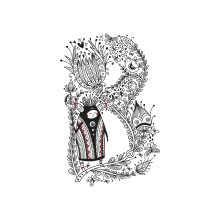 Buu & Luu Alphabet. Um projeto de Ilustração, Design de personagens, Tipografia, Ilustração digital, Ilustração infantil e Desenho tipográfico de Yuliia Bahniuk - 03.06.2017