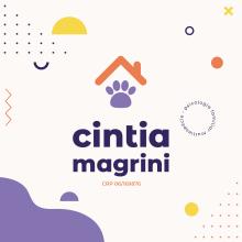 Cintia Magrini. Un proyecto de Diseño, Br, ing e Identidad y Diseño de logotipos de Bruno Magrini - 22.04.2021