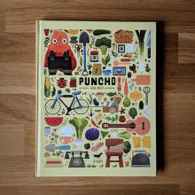 Puncho. Um projeto de Ilustração editorial de Elena Serrato - 23.04.2021