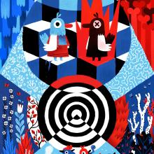 Impossible Illustration - Exhibition. Um projeto de Ilustração e Artes plásticas de Elena Serrato - 23.04.2021