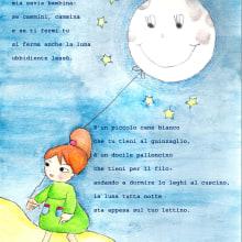 Il mio progetto del corso: Illustrazione infantile con acquerello. A Illustration project by Martina - 04.24.2021